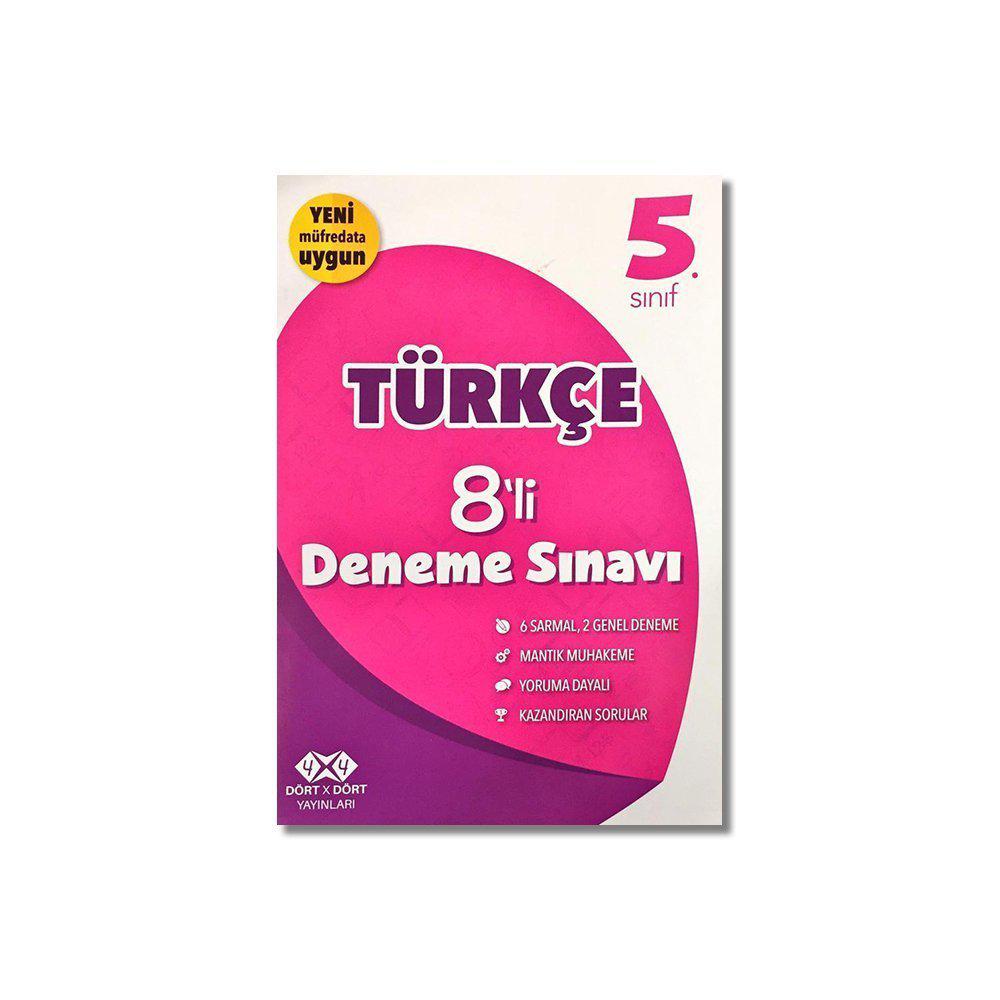 5. Sınıf Türkçe 8'li Deneme Sınavı
