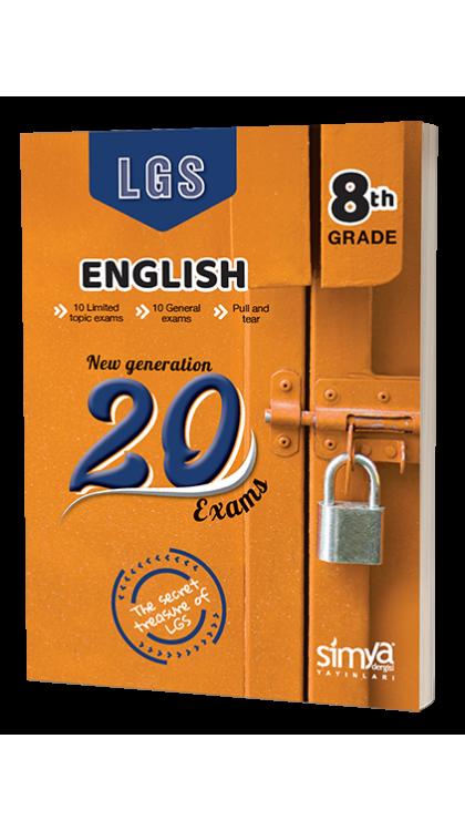 Simya Yayınları 8.Sınıf İngilizce Branş Deneme Sınavı