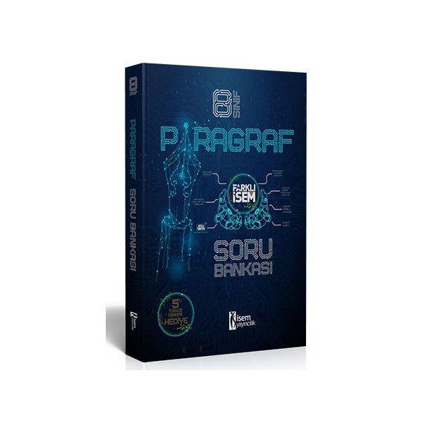 İsem 2021 8 Sınıf Paragraf Soru Bankası + 5 Türkçe Deneme