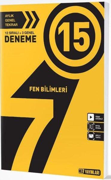7. SINIF FEN BİLİMLERİ 15 Lİ DENEME