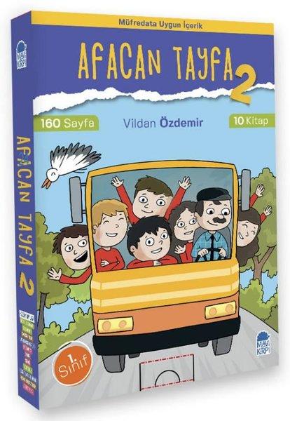 Afacan Tayfa 2 - 1. Sınıf Okuma Seti (10 Kitap)