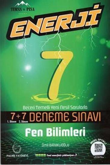 Palme Yayınları 7. Sınıf Enerji Fen Bilimleri 7+7 Deneme Sınavı Palme