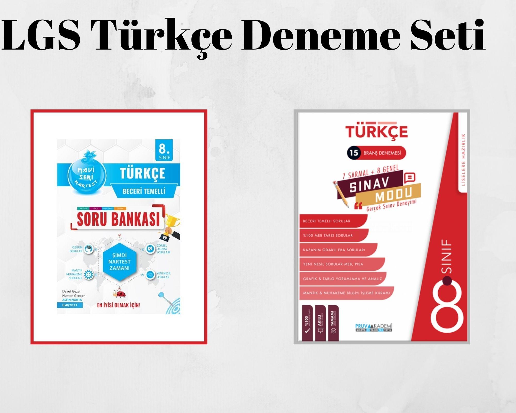 LGS Türkçe Deneme Seti