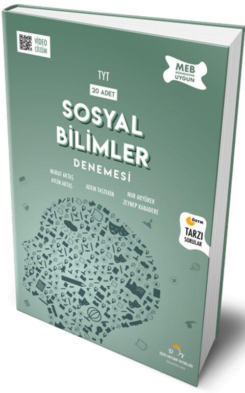 TYT 20'li Sosyal Bilimler Denemesi Ders Ortamı Yayınları