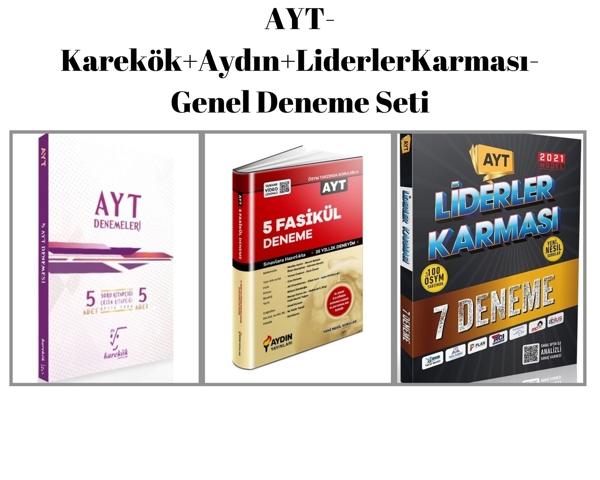AYT-Karekök+Aydın+LiderlerKarması-Genel Deneme Seti