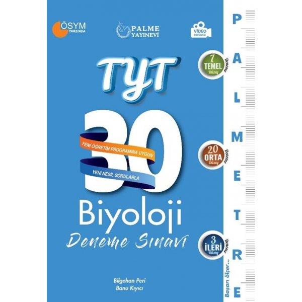 TYT Biyoloji 30 Deneme Sınavı (Palmetre Serisi)