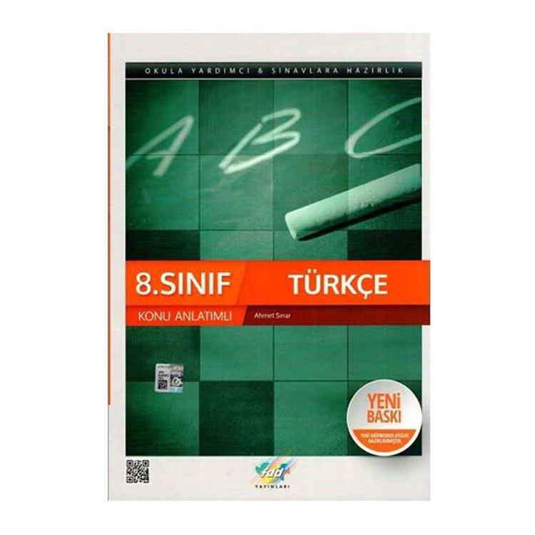 8.Sınıf Türkçe Konu Anlatımlı 2020