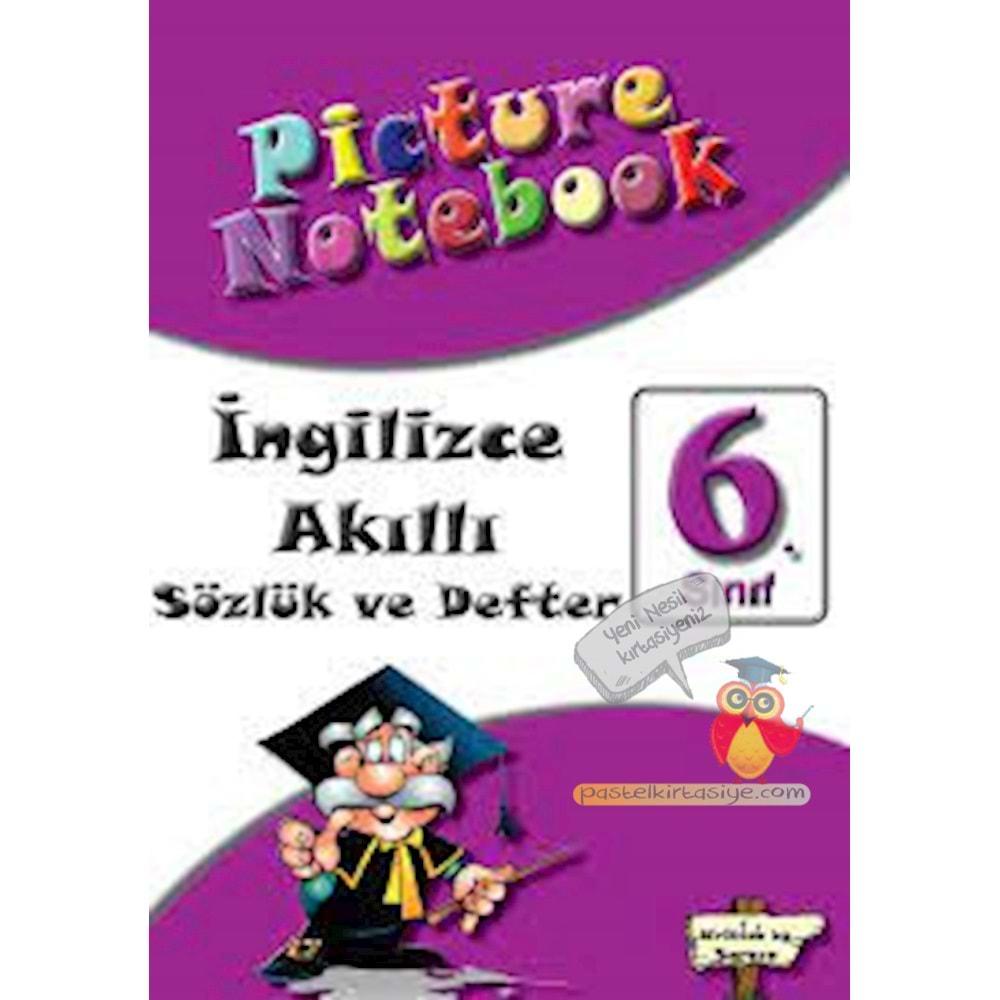 Picture Notebook 6 (Akıllı Sözlük ve Defter) Ortaokul  Sargın Yayıncılık