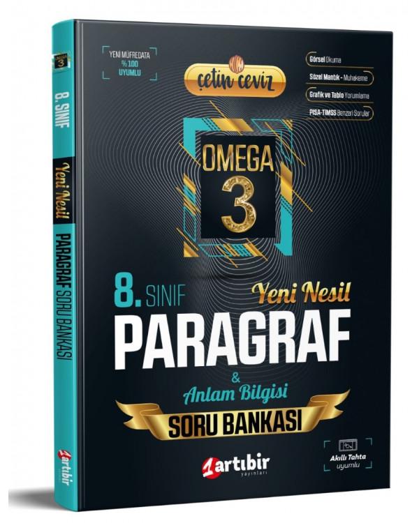 Artıbir Yayınları LGS Çetin Ceviz Görsel Okuma Paragraf Yeni Nesil Soru Bankası Artıbir