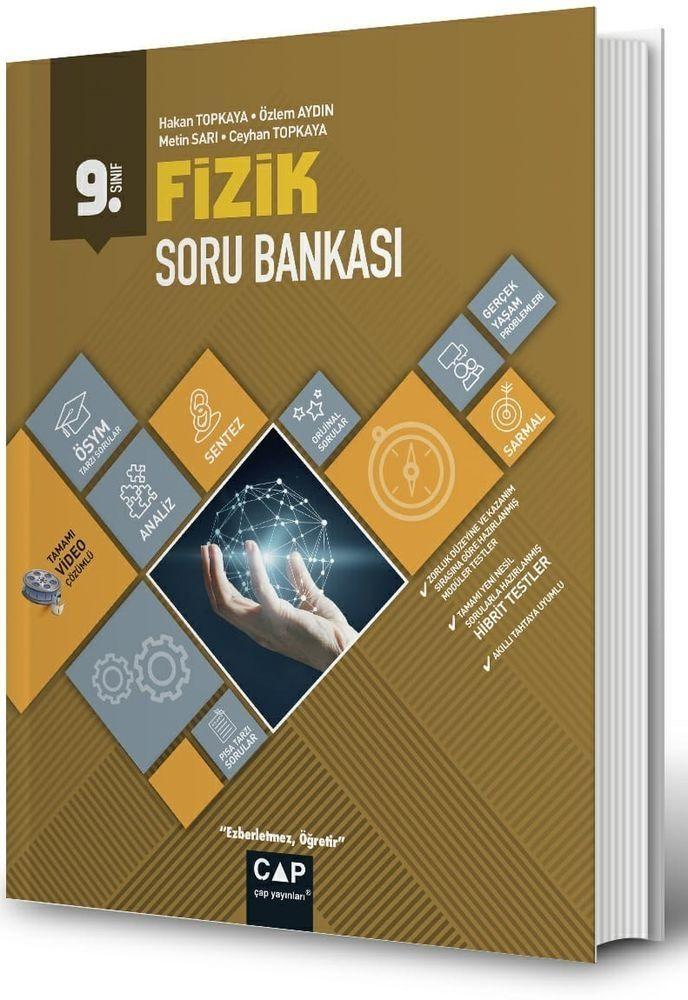 Çap Yayınları 9. Sınıf Anadolu Lisesi Fizik Soru Bankası Çap