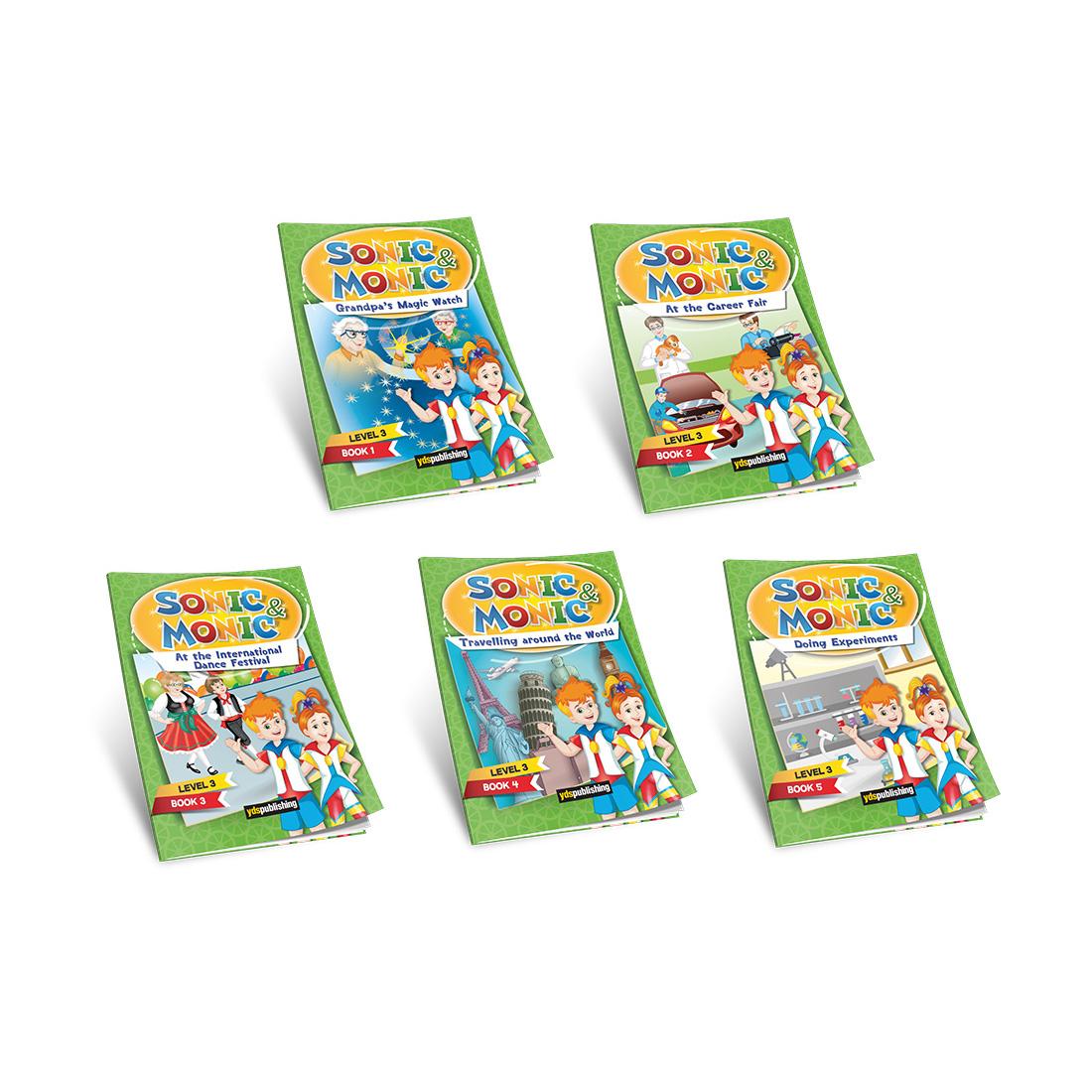 YDS Publishing Sonic&Monic Reader Series 3