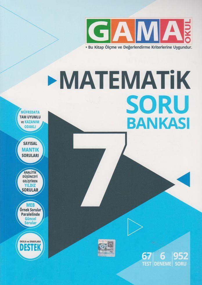 Gama 7.Sınıf Orjin Matematik Konu Özetli Etkinlikli Soru Bankası