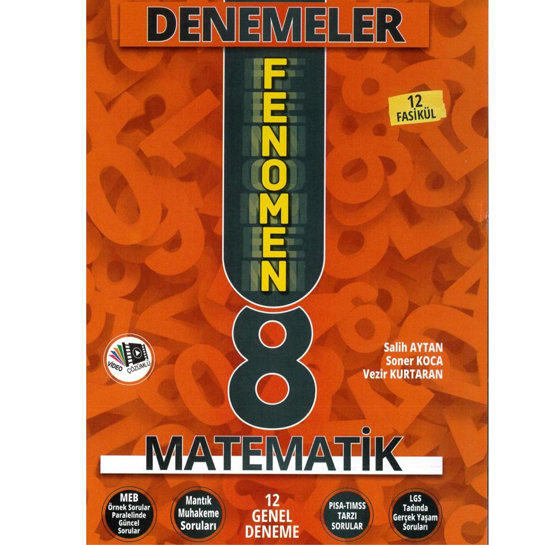 Fenomen 8.Sınıf Matematik Dnm